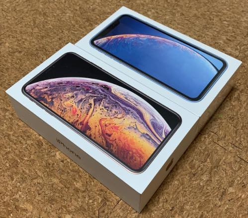 iPhoneXRとiPhoneXSMax