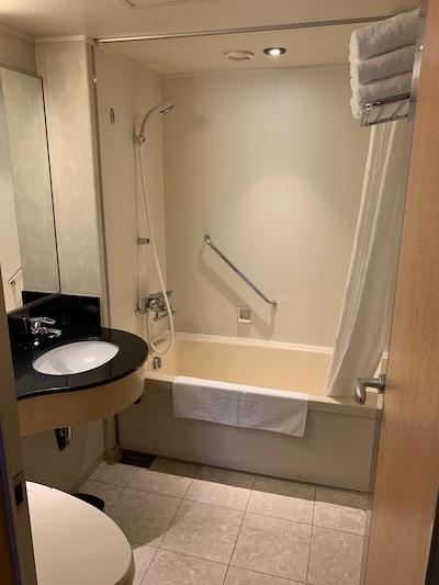 シェラトン都ホテル大阪バスルーム