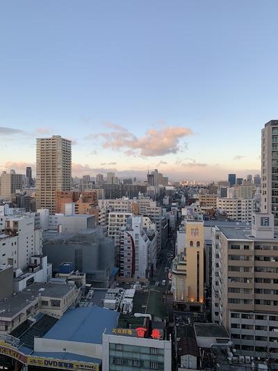 シェラトン都ホテル大阪景色北向き