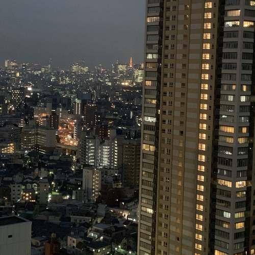 サンシャインシティプリンスホテル東京タワー夜景