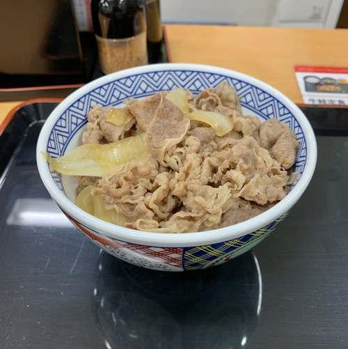 スーパーフライデー吉野家牛丼並盛