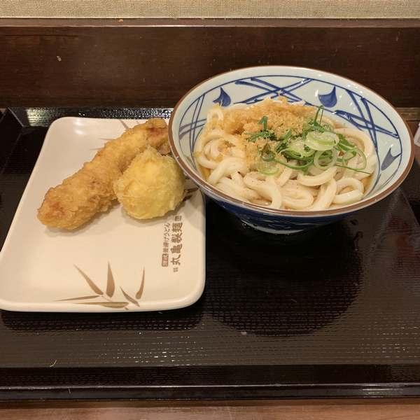 スーパーフライデー丸亀製麺ぶっかけうどん冷