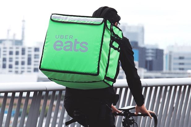 UberEats配達パートナーバッグ