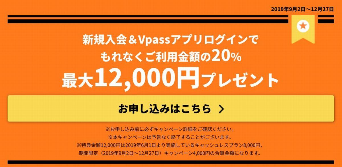 三井住友カードエブリプラス20パーセント還元