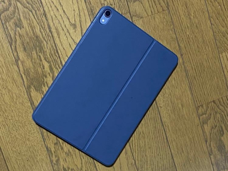 Smart Keybord Folioカバー状態