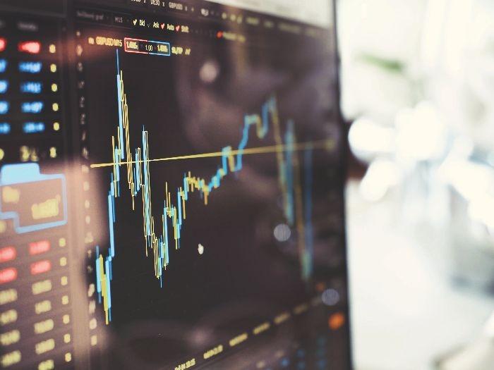株価変動イメージ