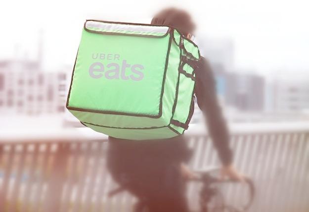 Uber Eats配達パートナーイメージ
