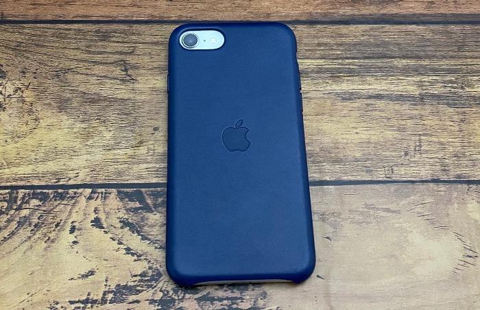 iPhoneSEレザーケース