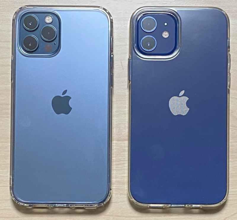 iPhone12ProとiPhone12のケース