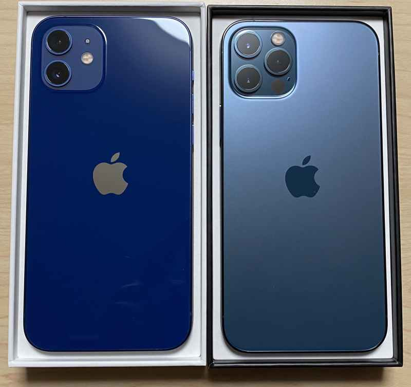 iPhone12ProとiPhone12カメラ比較