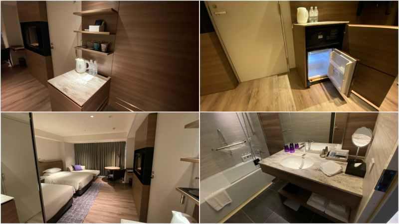 琵琶湖マリオットホテルスーペリアツイン室内
