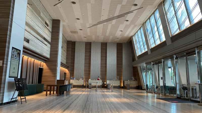 琵琶湖マリオットホテルフロント
