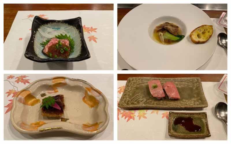 近江牛ティファニーコース料理