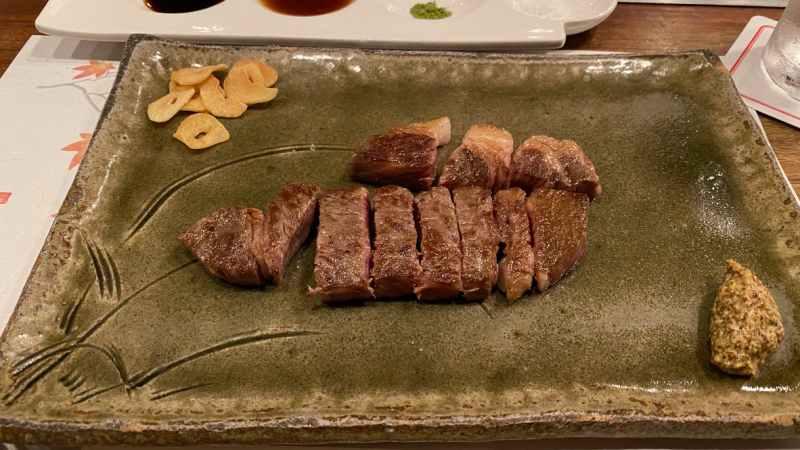 近江牛ティファニーロースステーキ
