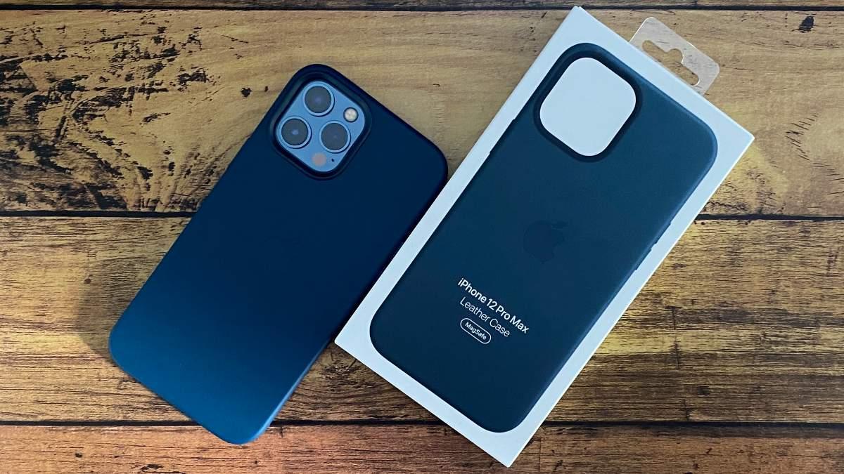 iPhone12ProMaxレザーケースのアイキャッチ