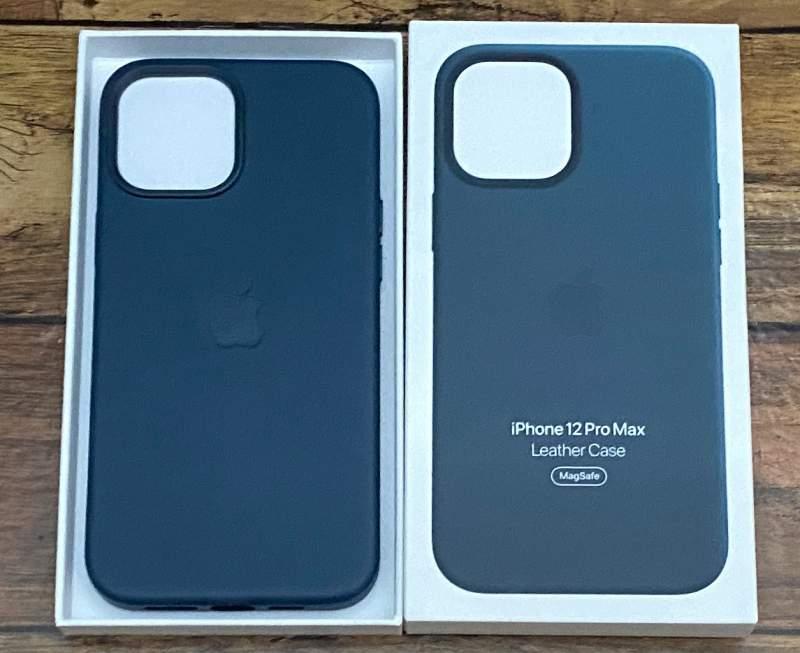 iPhone12ProMaxレザーケース