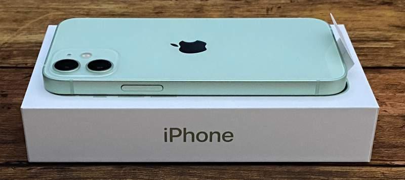 iPhone12mini電源ボタン側