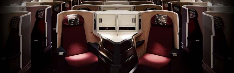 777-200ERビジネスクラスシート