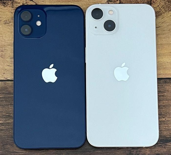 iPhone13とiPhone12の比較