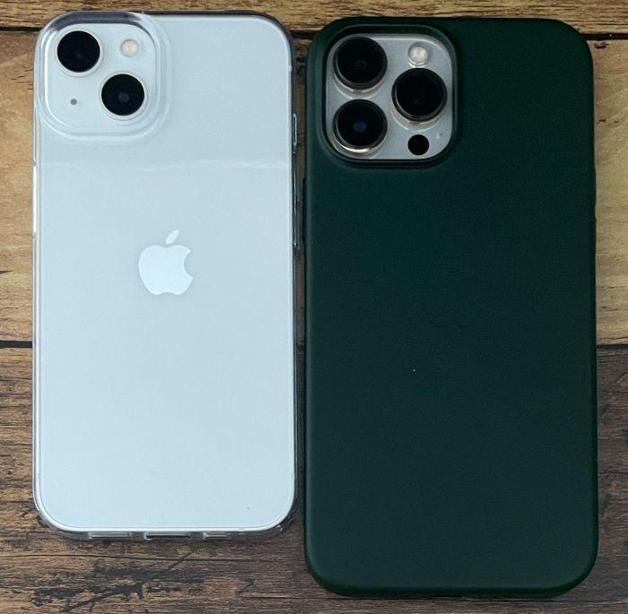 iPhone13とiPhone13ProMaxの比較