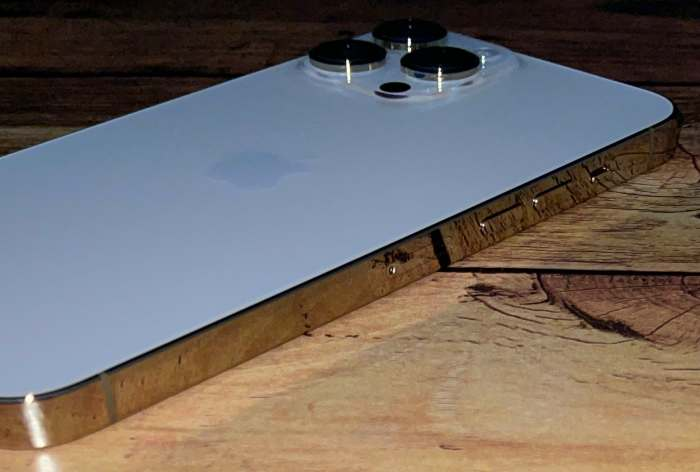 iPhone13ProMax音量ボタン側