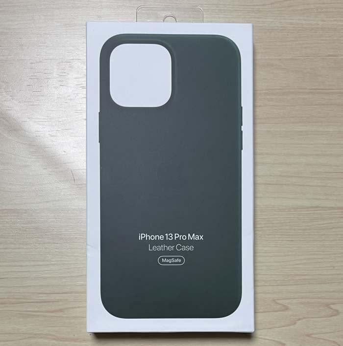 iPhone13Promaxレザーケース外箱