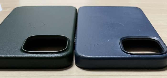 iPhone13promaxとiphone12promaxのケース高さ比較