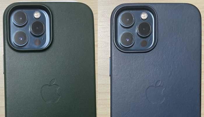 iphone13promaxとiphone12promaxのケースカメラ部分比較